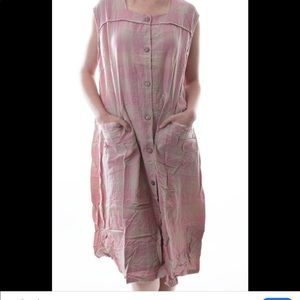 Magnolia pearl aunt ida smock dress OS